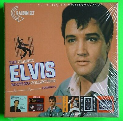ELVIS PRESLEY - THE CLASSIC BOOTLEG COLLECTION VOLUME 2 - 6 CD