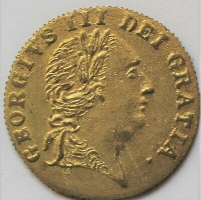 A 1797 (Dated) In Memory Of The Good Old Days Gambling Token -  (L)