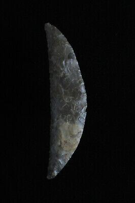DANISH LUNATE SICKLE, CRESCENT KNIFE, Dagger Period, Denmark, Arc COA