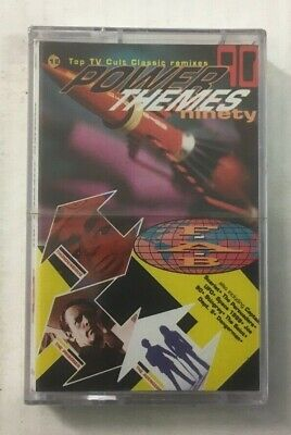 """F.A.B """"Power Themes '90"""" Tape Cassette - NEW & SEALED - TV Cult Classic ReMixes"""