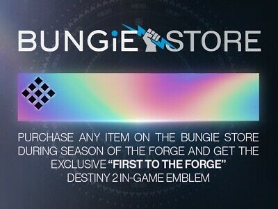 Destiny 2 First to the Forge emblem - FAST DELIVERY UPON PURCHASE!