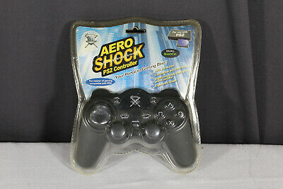 MAXIMO - AERO SHOCK - PS2 WIRED GAME CONTROLLER - Compatible Dual Shock - NEW