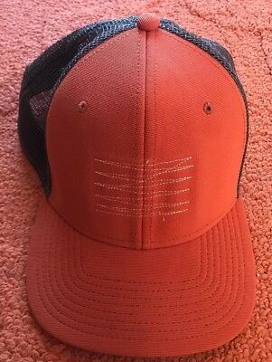 BROWN RIP CURL Surf Wear Co Logo Trucker Hat Cap Adjustable Snapback