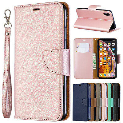 For iPhone XS Max XR 6 7 Plus 8 Case Magnetic Wallet Leather Flip Luxury Cover