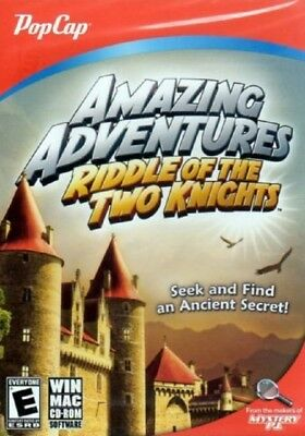 Games - PC CD-Rom - Amazing Adventures Riddle of the Two Knights