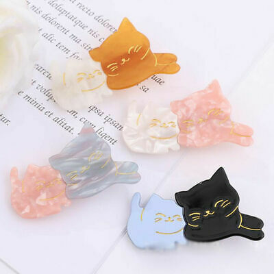 Women Cute Acrylic Hair Clips Barrette Bobby Stick Hairpin Hair Accessories Gift