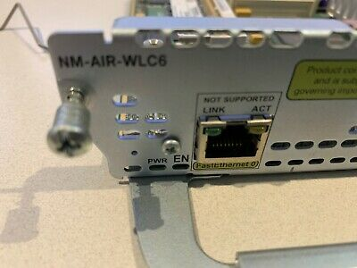 NM-AIR-WLC6   Cisco router WLC controller