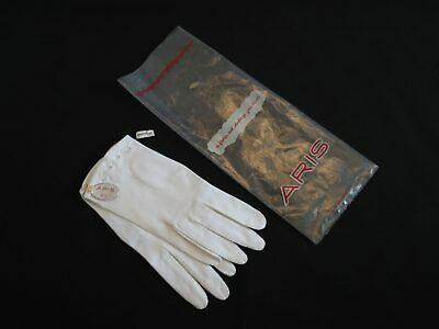 New Old Stock - Short White Vintage Gloves by Aris