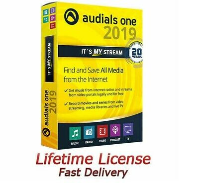 Audials One Platinum 2019 Full version Lifetime License Key Fast Delivery
