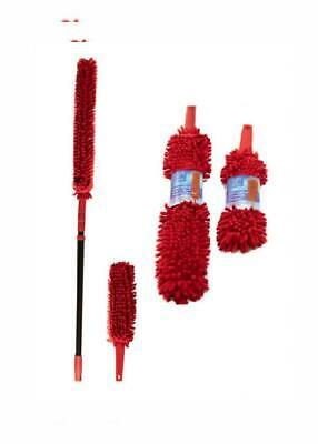 Extendable Microfibre Duster Long Handled with Washable Head -...