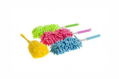 Draysvet 3 Pack Microfibre Duster Extendable Telescopic Cobweb Brush...