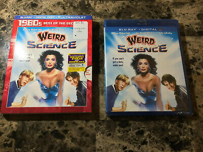 Weird Science Blu Ray with RARE Slip Cover. Best of the Decade 80s!