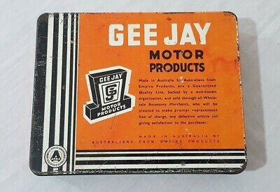 Gee Jay Motor Products Assortment Tin