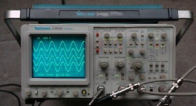 Tektronix 2465B 400 MHz Oscilloscope, Calibrated, SN:B058897, 30day Warranty