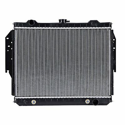 3-ROW FULL ALUMINUM RADIATOR+2 RED FAN FOR 74-79 DODGE W100//W200//W300 5.2//5.9