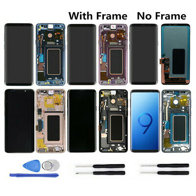 Frame Assembly For Samsung Galaxy S9 S9 Plus+ LCD Touch Display Screen Digitizer