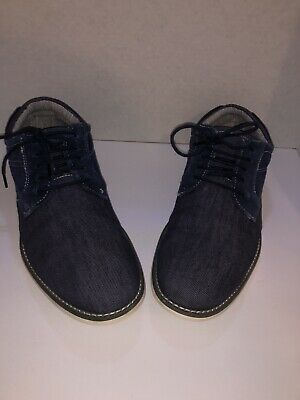 6e94d9dfb6a SIZE 8.5 STEVE Madden Stoker Gray Twill / Suede Casual Oxford Lace ...