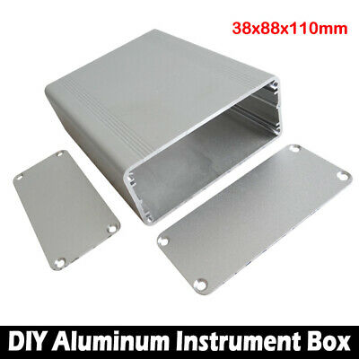 Electronic Aluminum PCB Instrument Enclosure Case Project Box DIY 110*88*38mm