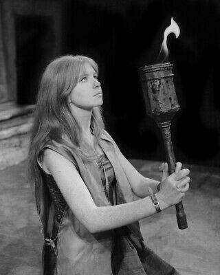 The Masque of the Red Death Jane Asher holding torch 8x10 Photo