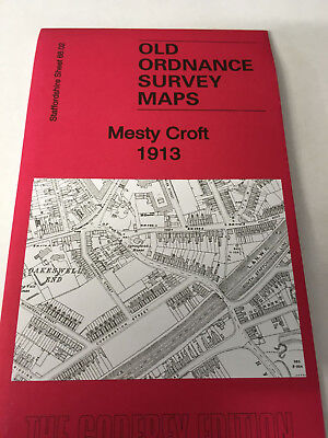 Old Ordnance Survey Map Mesty Croft 1913