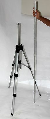 Tripod and 2m rule (staff) for Cross line laser level and  Rotary Laser Levels