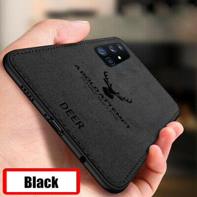 For Samsung Galaxy A30 A50 S10 Plus TPU Leather Ultra Thin Soft Back Case Cover