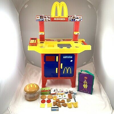 Mcdonald S Play Kitchen Electronic With Food Toy Drive Thru Restaurant Plastic