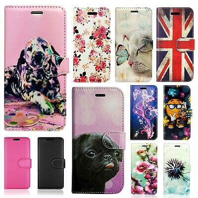 Wallet Flip Book Pu Leather Phone Full Safe Case Cover For Huawei P30 Pro & Many