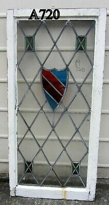 A720    Stained Glass Ca 1930s