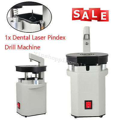 Dental Laboratory Laser Pindex Drill Pin Machine with Hardmetal Tips Clinic uSE