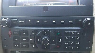 Peugeot 407 Coupe Rt3 N3 Sat Nav Cd Mp3 Player 96601833 Xa