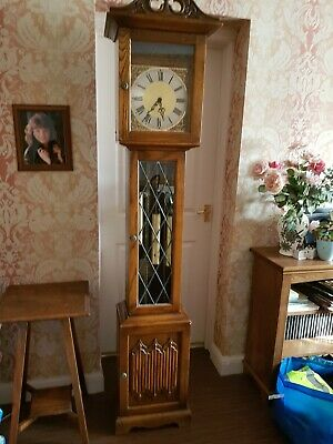 Old Charm triple chime longcase clock