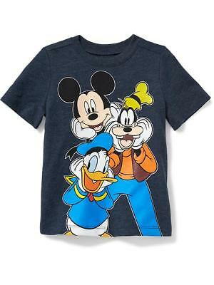 Nwt 12-18 Mon. Old Navy Disney Mickey Mouse Donald Goofy T Top Shirt Cute Gift!