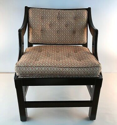 Child's English Chinese Chippendale Upholstered Chair