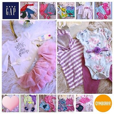 86561a035513 Huge Lot BABY GIRL Boho Fringe Gap Carters Outfits Sets Clothes Boots Shoe  0-6