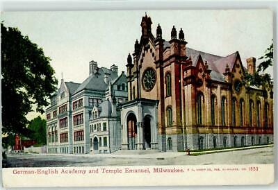 52363629 - Milwaukee German-English Academy - Temple Emanuel Synagoge Synagogen