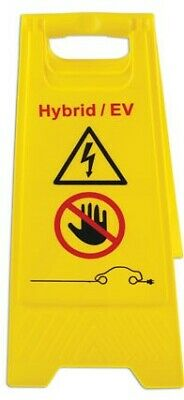 Electric / Hybrid Safety Sign & Glove Car Tool Kit - 1000 Volt EV Working Tools