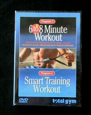 TOTAL GYM 6 to 8 Minute Workout DVD Aerobic Strength