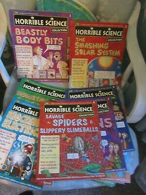 The Horrible Science Magazine Collection 18 Issues (1-12, 14-19)