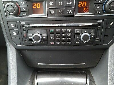 CITROEN C5 RT3eV-N3-Q1 SAT NAV JUKE BOX CD HEAD UNIT 96647951 ZD
