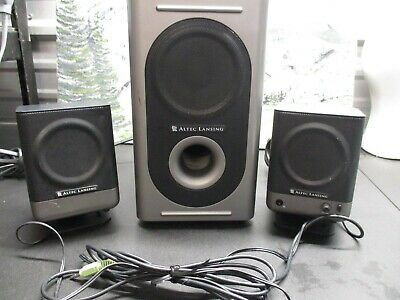 ALTEC LANSING COMPUTER SPEAKERS Model 0P0614, A215 NO Power