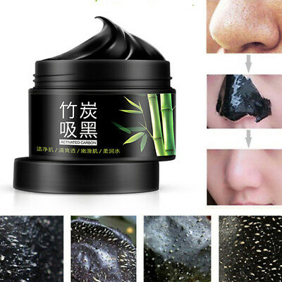 Charcoal Blackhead Remover Peel Off Facial Cleaning Black Face Mask FO