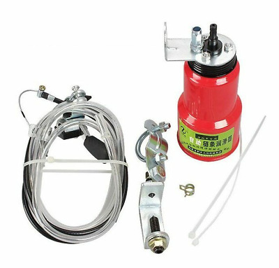 Motorcycle Chain Lubricator Drive Belts Pitbike Cross Oil Automatic Dispenser