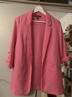 00b9fd44d0f4 Primark Bright Pink Blazer Style Jacket, Brand New Never Worn With Tags