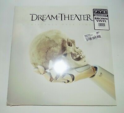Dream Theater NEW Distance Over Time brown vinyl LP 500 units made FYE exclusive