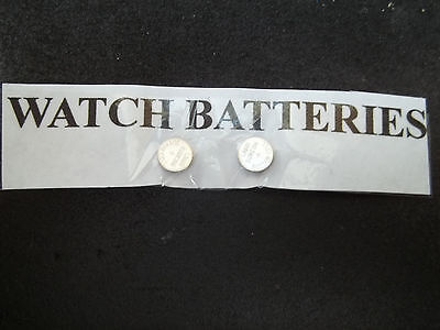 Two Watch Batteries As Low As 0.35 Each