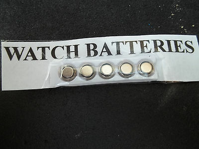 Five Cell Watch Batteries For £2.00