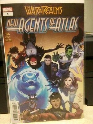 NEW AGENTS OF ATLAS #1 1st Appearance Wave War of Realms NM 1ST PRINT!!