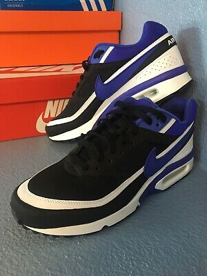 a5a3446e86 NEW NIKE Air Max BW OG RETRO Persian Violet White Black 819522-051 Men Size