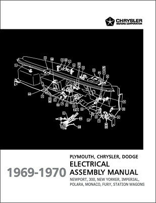 1969-1970 fury polara monaco electrical assembly manual wiring dodge  plymouth